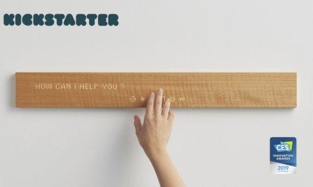 mui smart display wooden smart display ces 2019