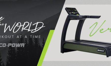 sportsart verde electricity generating treadmill ces 2019