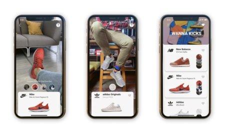 wannakicks ar app sneakers