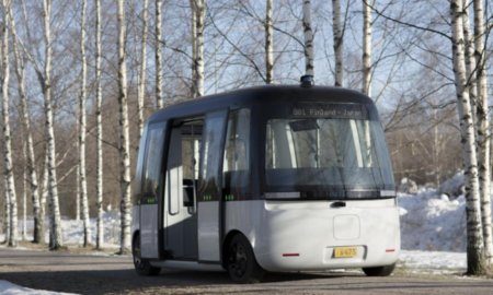GACHA Self-Driving Shuttle Bus Powered with RoboSense All Weather LiDAR