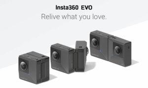 insta360 evo foldable 360 camera