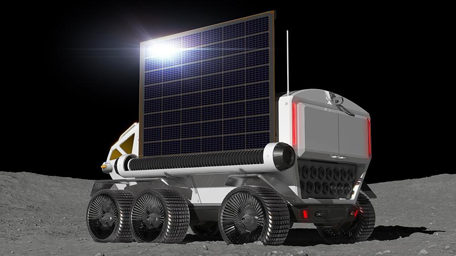 jaxa toyota lunar rover solar panel