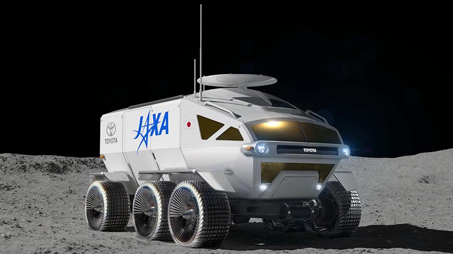 jaxa toyota lunar rover