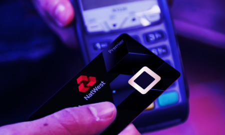 natwest card with fingerprint reader