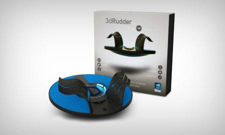 3D rudder controller