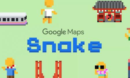 google-snake-google-maps