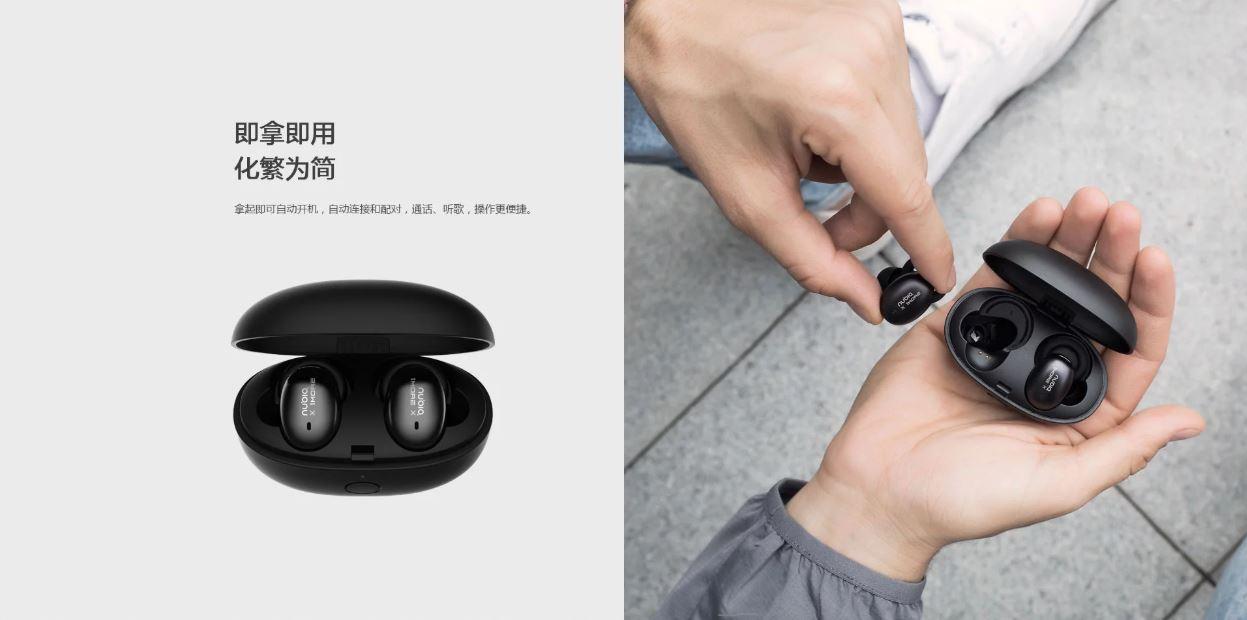 nubia pods true wireless earbuds
