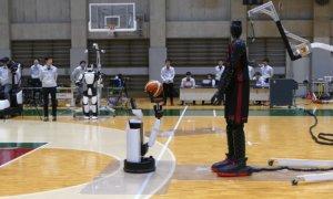 robot basketball