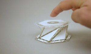 origami-metamaterial-shock-absorbers