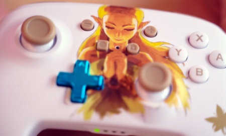 powera princess zelda controller