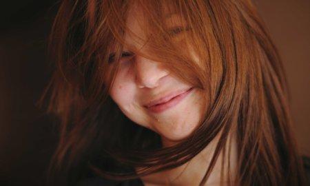 happy mood girl