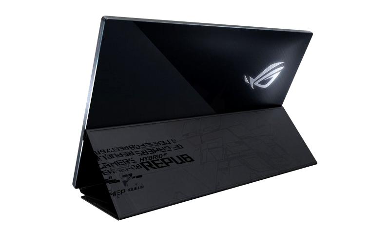 asus ROG XG17 portable gaming monitor back
