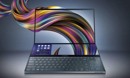 Asus ZenBook Pro Duo 4k displays