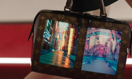 louis vuitton canvas of the future display handbag