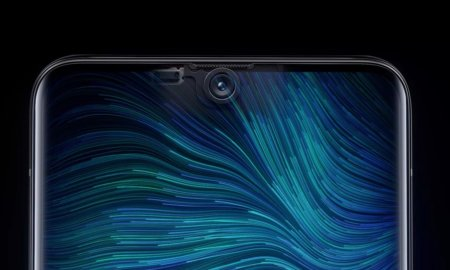oppo under-display camera placement