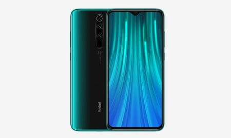 redmi note 8 pro front back