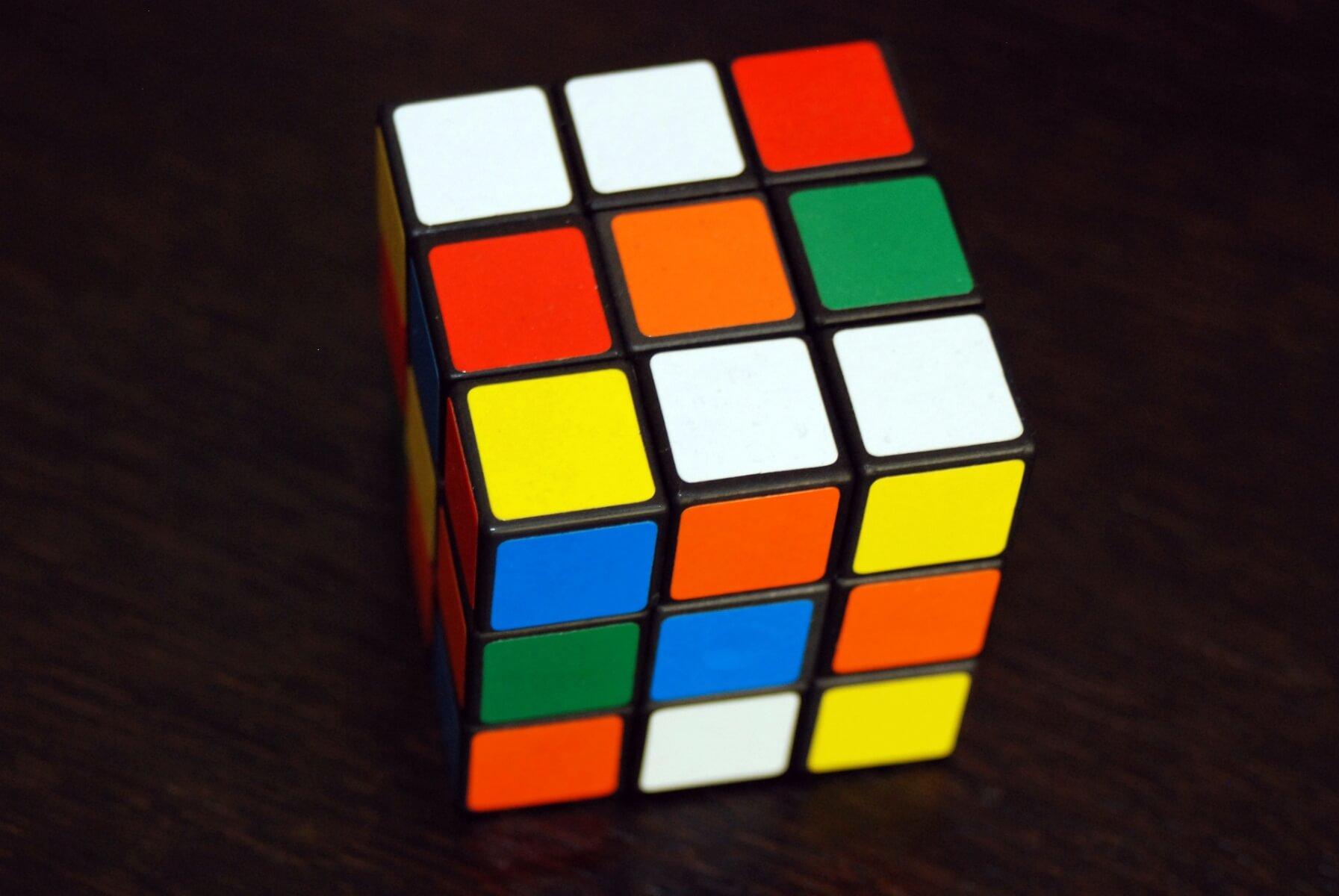 rubik hydrogel cube