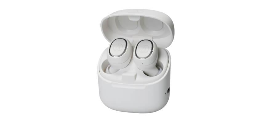 audio-technica ATH-CK3TW white in-ear headphones