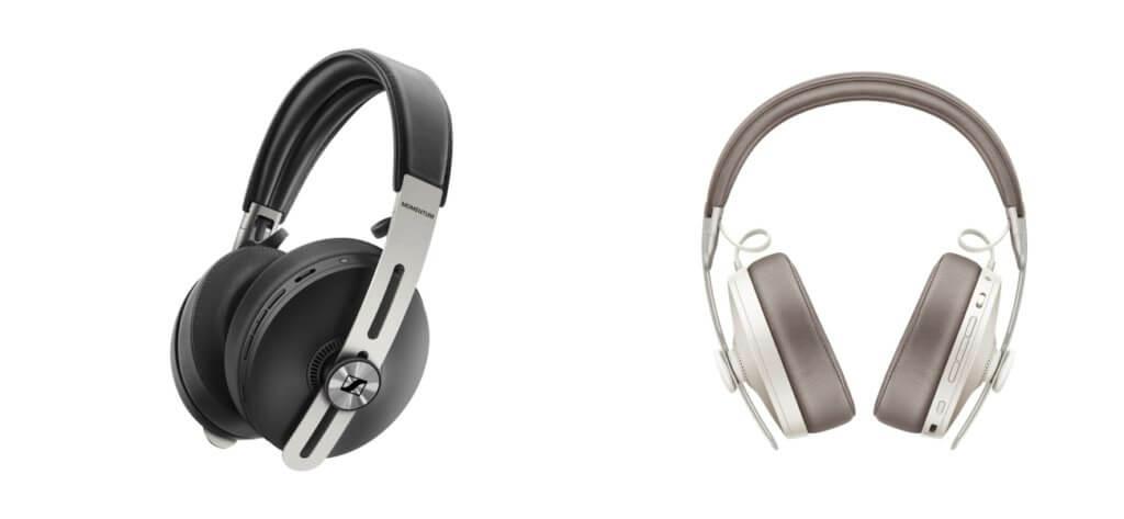 new sennheiser momentum wireless sandy white black
