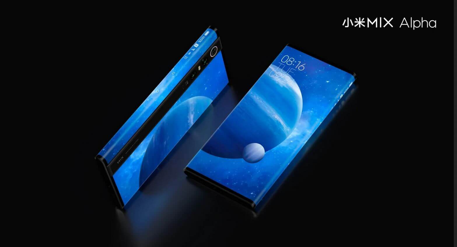 xiaomi mi mix alpha wraparound screen