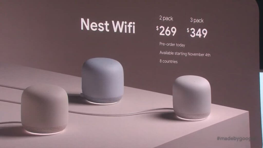 Made by Google '19 nest wifi