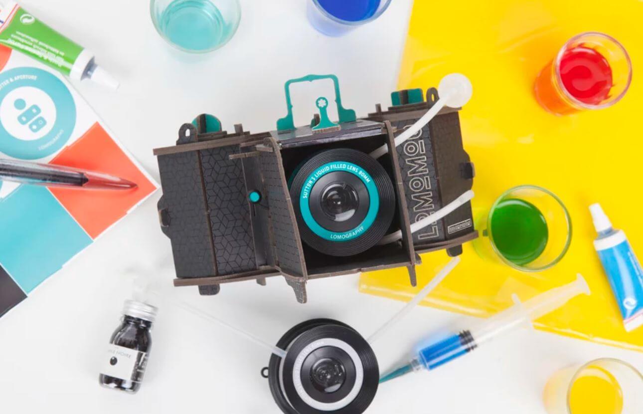 lomomod no1 liquid lens photography kit diy camera