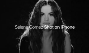 selena gomez shot on iphone lose you to love me