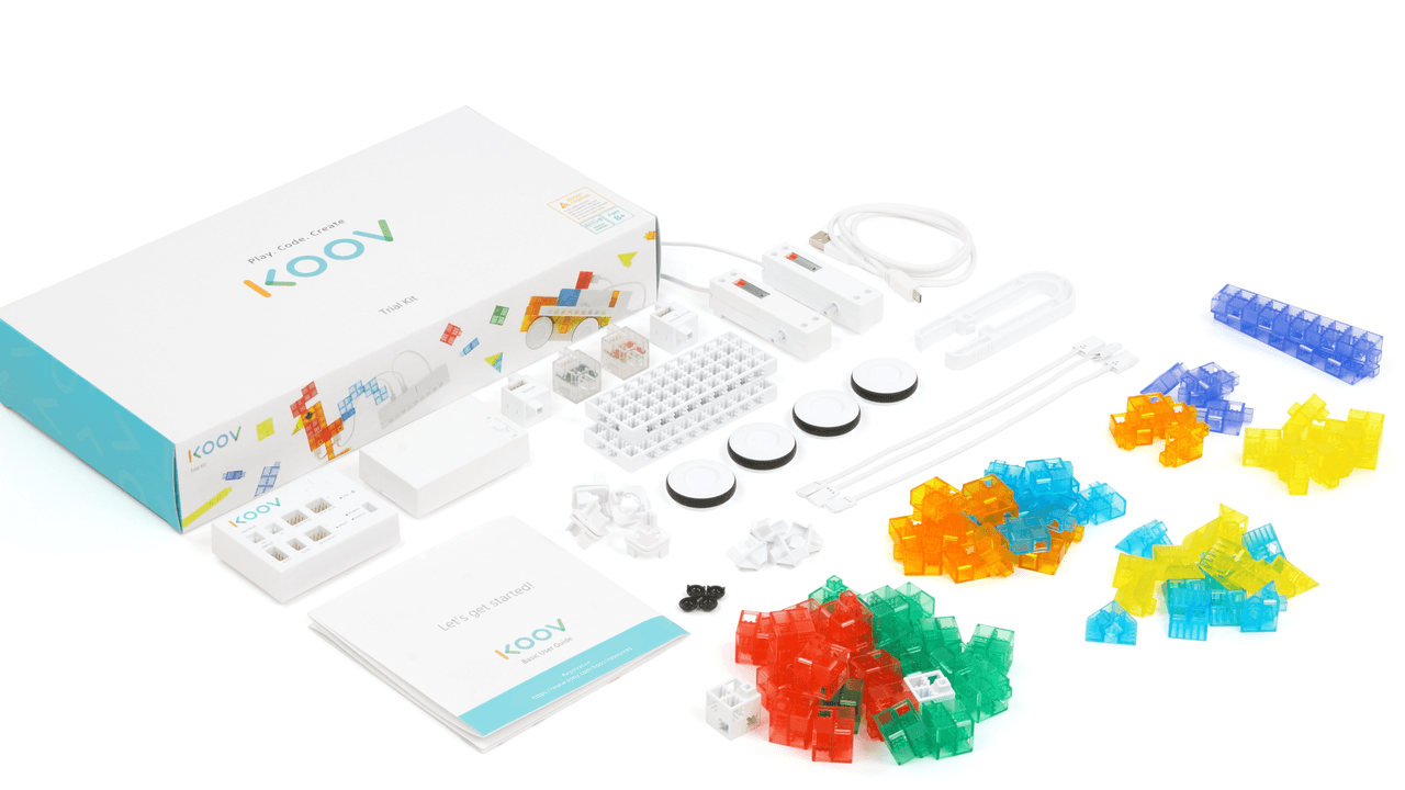 sony koov trial kit coding robotics kit stem education