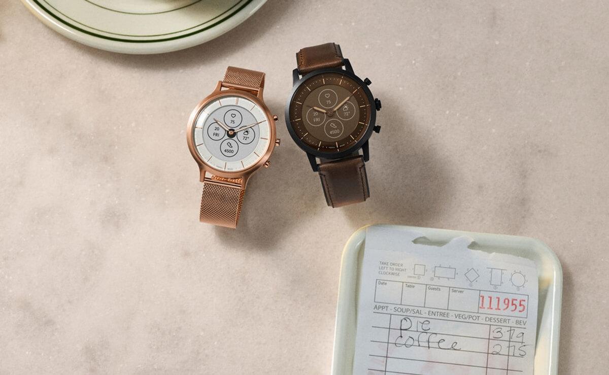 fossil hybrid hr smartwatch battery life app