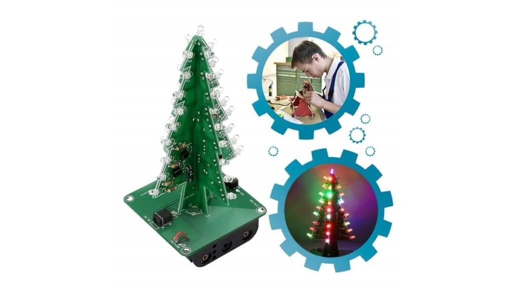 led circuit christmas tree