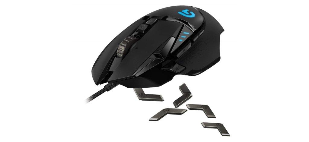 logitech proteus 502 gaming mouse