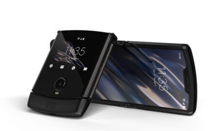 new motorola razr foldable smartphone