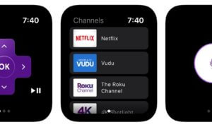 roku app on apple watch