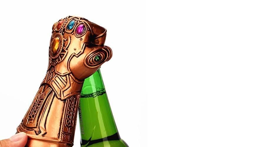 thanos glove bottle opener