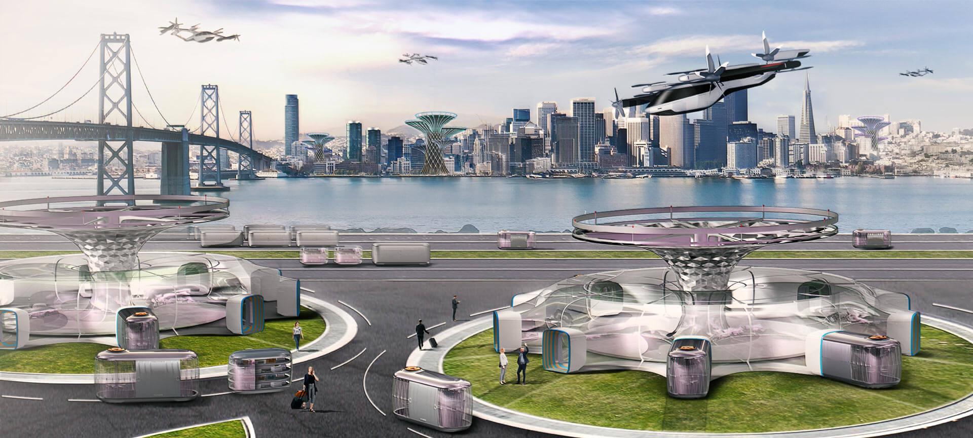 hyundai ces 2020 personal flying car