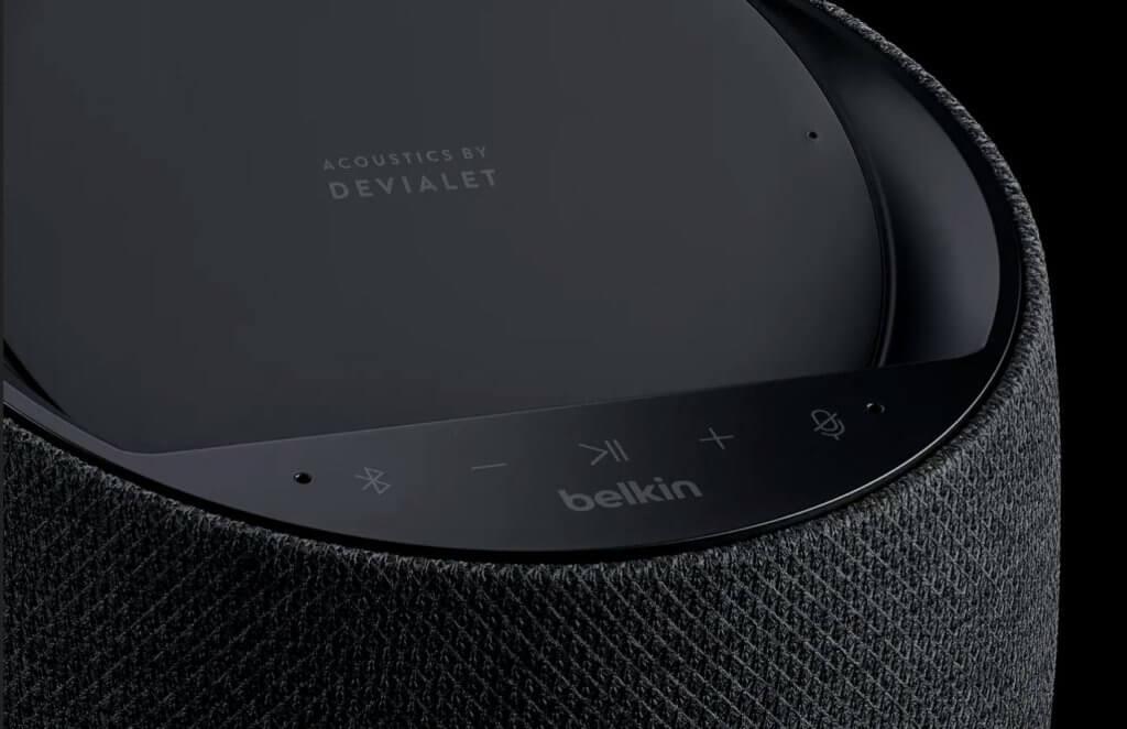 Belkin Soundform Elite Smart Speaker Devialet Acoustics