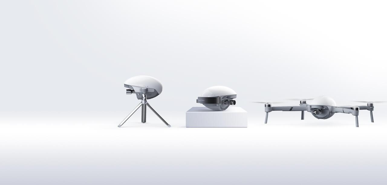 PowerVision_PowerEggX drone for content creators ces 2020