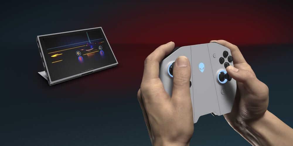 dell alienware concept ufo console controller