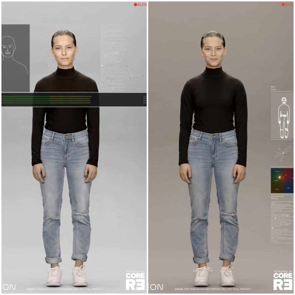 neon artificial humans ces 2020 samsung