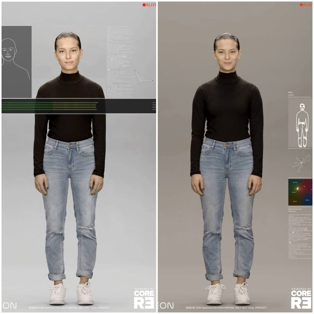 Beyond Uncanny: Samsung Debuts Neon Artificial Humans That Look and Act Like Real People