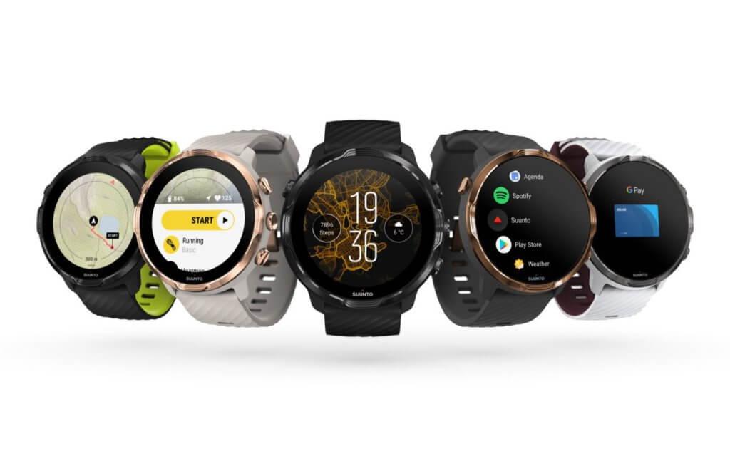 suunto 7 models smart watch wearos snapdragon 3100