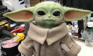 baby yoda animatronic grant imahara