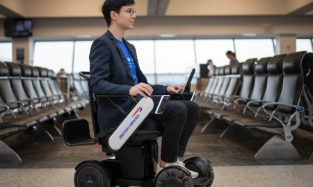british airways self driving wheelchair jfk airport