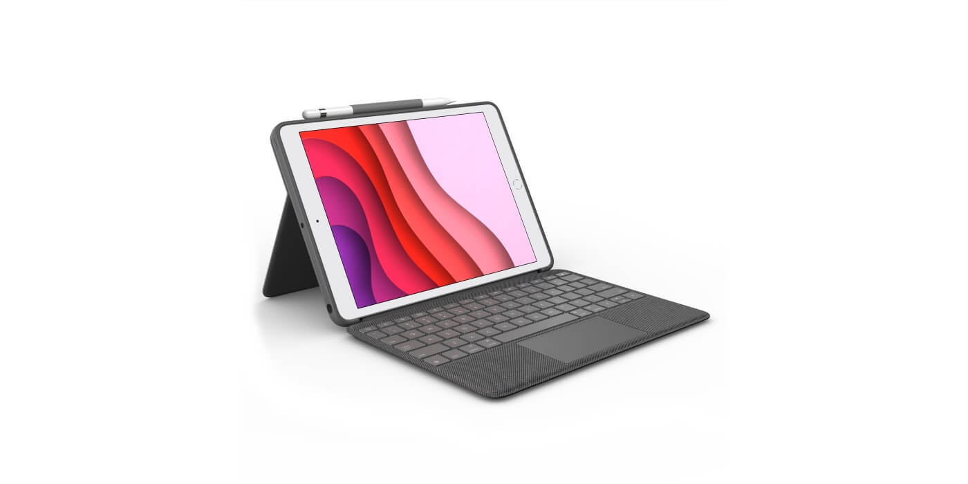 logitech combo touch keyboard case for ipad