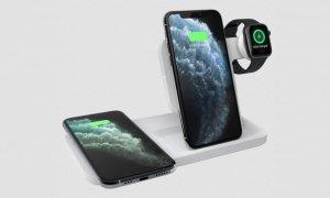 logitech wireless apple watch charger 3 in 1 dock