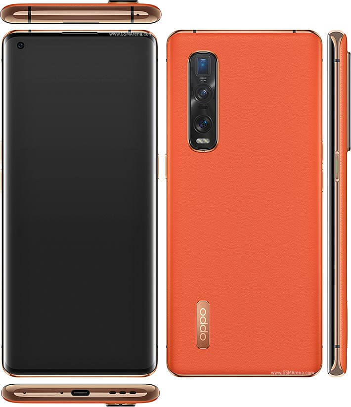 oppo find x2 pro front and back