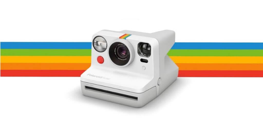 polaroid now camera autofocus