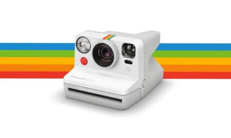 polaroid now camera autofocus