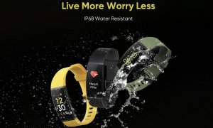 realme band ip68 water resistance