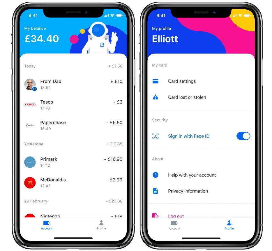 revolut junior banking app